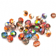 Czech Beads- Fire Polished- 6mm